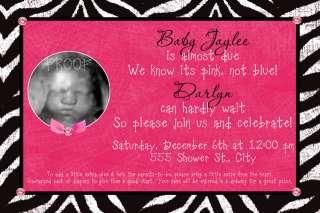 BOY & GIRL Ultrasound BABY Shower INVITATION 50+designs