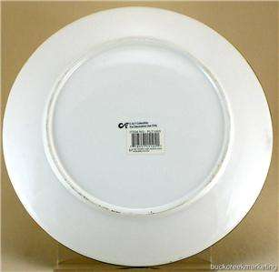 New Fat Chef Waiter Bistro Art Wall Plate Signed David Lee NWT Kitchen