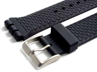 Heavy Resin Strap for Swatch Irony Chrono Watch 19mm |