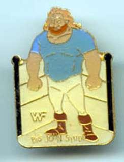 Big John Studd WWF Wrestling Pin  Vintage