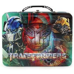 Transformers Autobots Embossed Metal Lunch Box/ Carry All